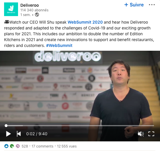 ceo-deliveroo-websummit-2020-video-marche-livraison-restauration-blog-innovorder